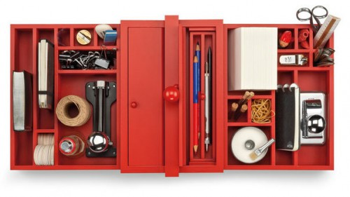 manufactum red organizer 500x281 best of office weekend roundup 84