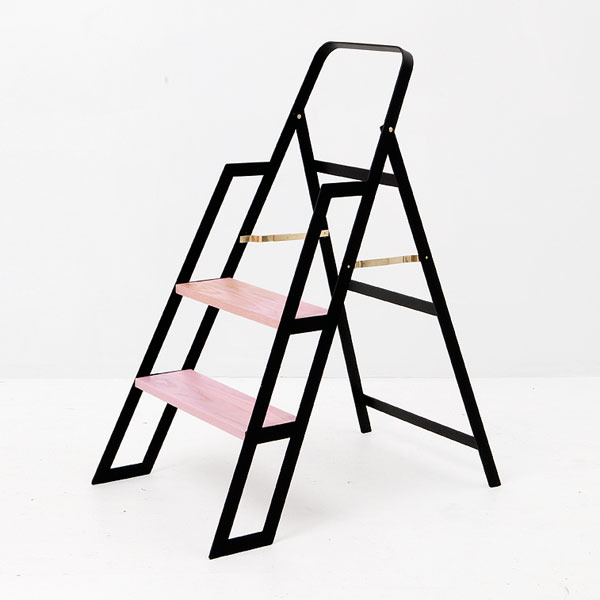 pink-black-step-ladder