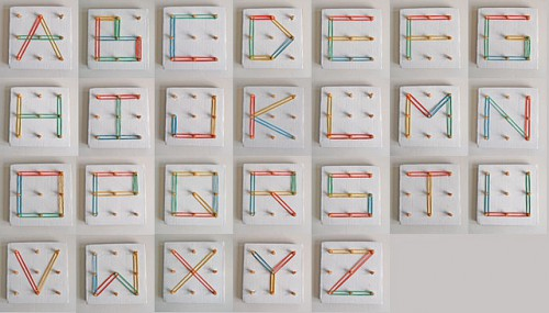 rubber band alphabet 500x285 best of office weekend roundup 86