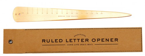 ruler letter opener 500x196 best of office weekend roundup 85