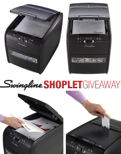 swingline stack shred giveaway Win a Swingline Stack And Shred Shredder!