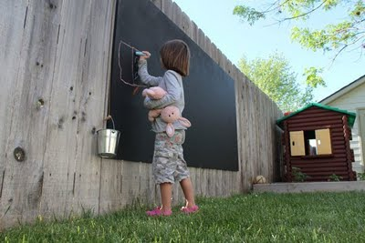 backyard fence chalkboard Best of Office Weekend Roundup 91