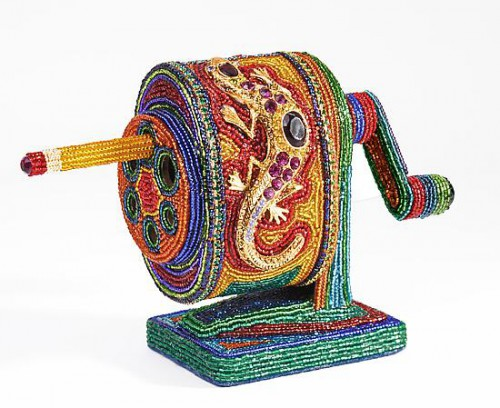 beaded pencil sharpener 500x408 Best of Office Weekend Roundup 90