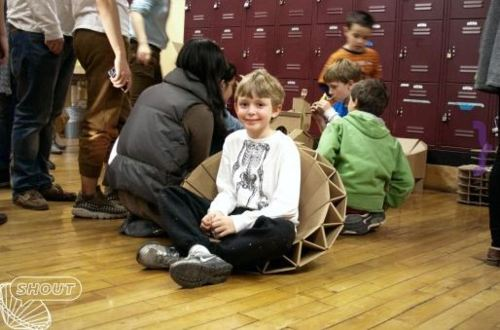 cardboard kids chairs Best of Office Weekend Roundup 89