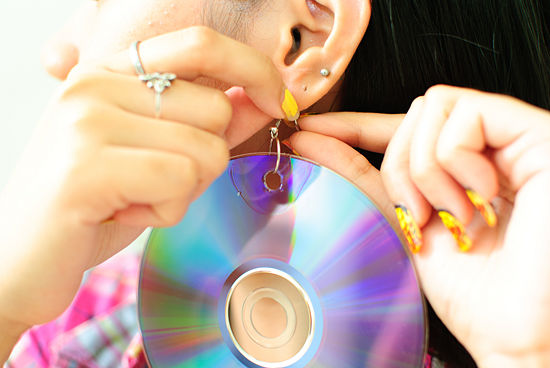 cd-earrings