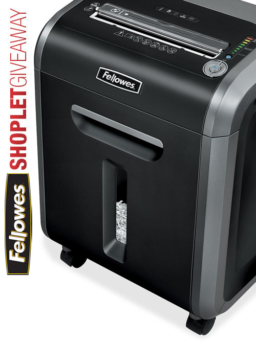 fellowes shredder giveaway Fellowes Powershred Giveaway