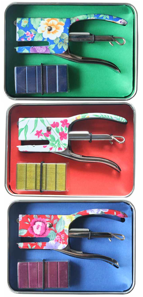 fiorella staplers Mini Floral Staplers for Spring!