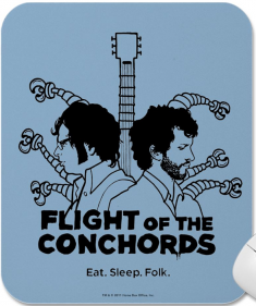 flight of the concords mousepad Best of Office Weekend Roundup 94