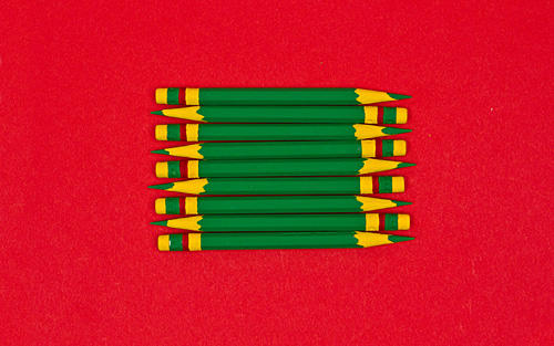 green pencils Best of Office Weekend Roundup 89