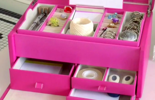 How To Make Jewelry Box Dividers Organizer Let