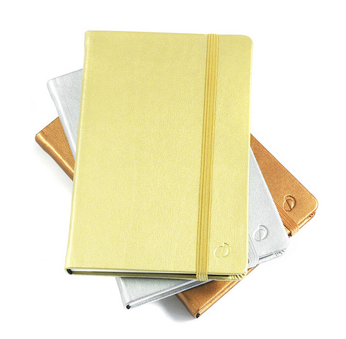silver gold notebooks Best of Office Weekend Roundup 91