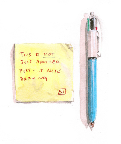 sticky note illustration Best of Office Weekend Roundup 94
