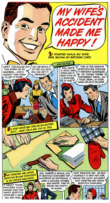 swingline stapler comic ad Best of Office Weekend Roundup 90