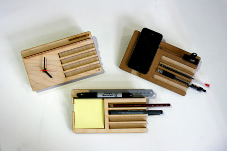 wood be waste organizer Best of Office Weekend Roundup 89