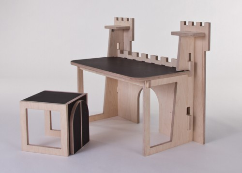 fortress desk 500x357 Best of Office Weekend Roundup 92