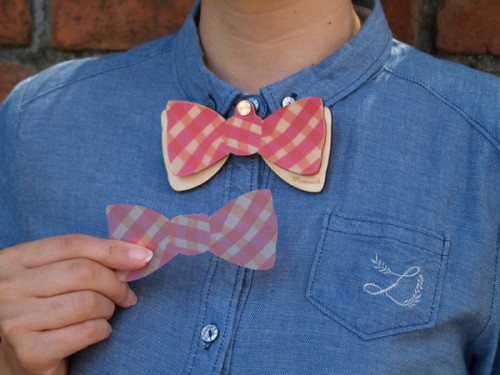 memooch bow tie 500x375 Memooch Wearable Stationery