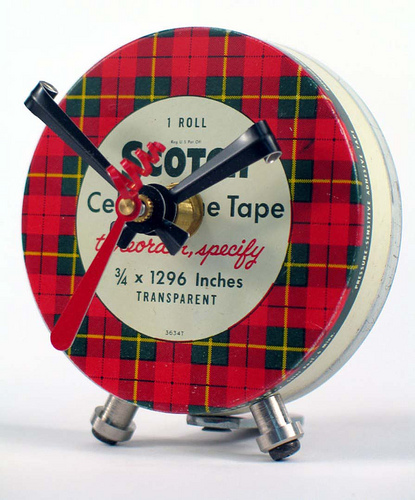 scotch tape clock Best of Office Weekend Roundup 95