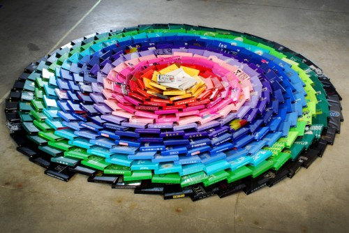 ColorSpiral 1024x685 500x334 Samsill Stop Motion Rainbow Spiral