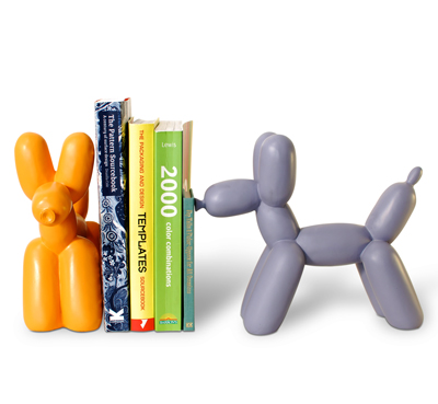 balloon-dog-book-ends