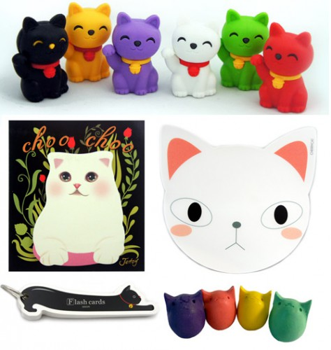 kitty-stationery
