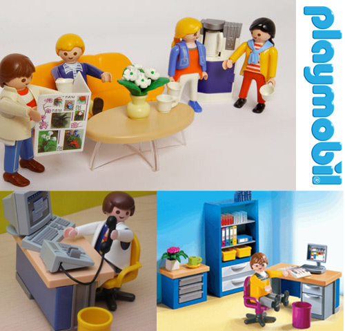 playmobil office Playmobil Office