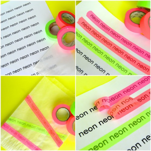 print words on washi tape 500x500 Best of Office Weekend Roundup 100