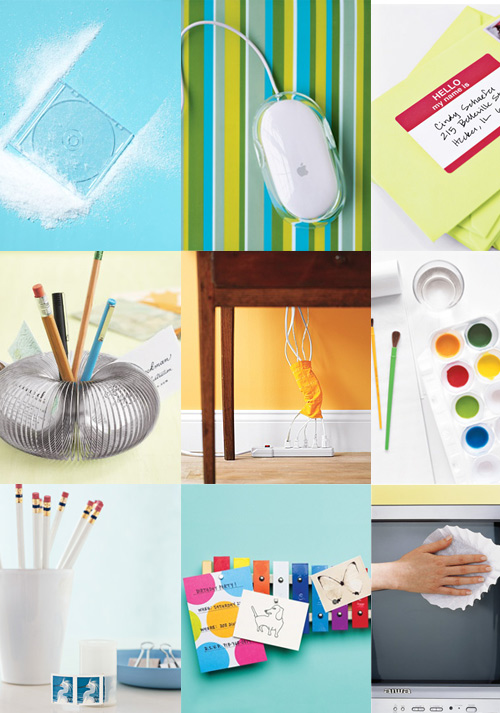 real simple new uses office supplies Nine More New Uses for Office Supplies
