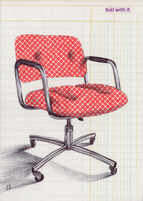 red-chair-sketch