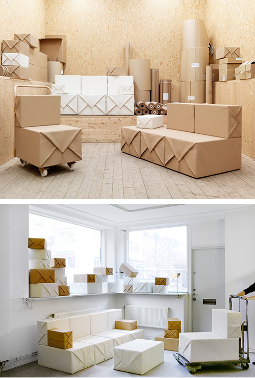soft parcel furniture Wrap Up Your Furniture