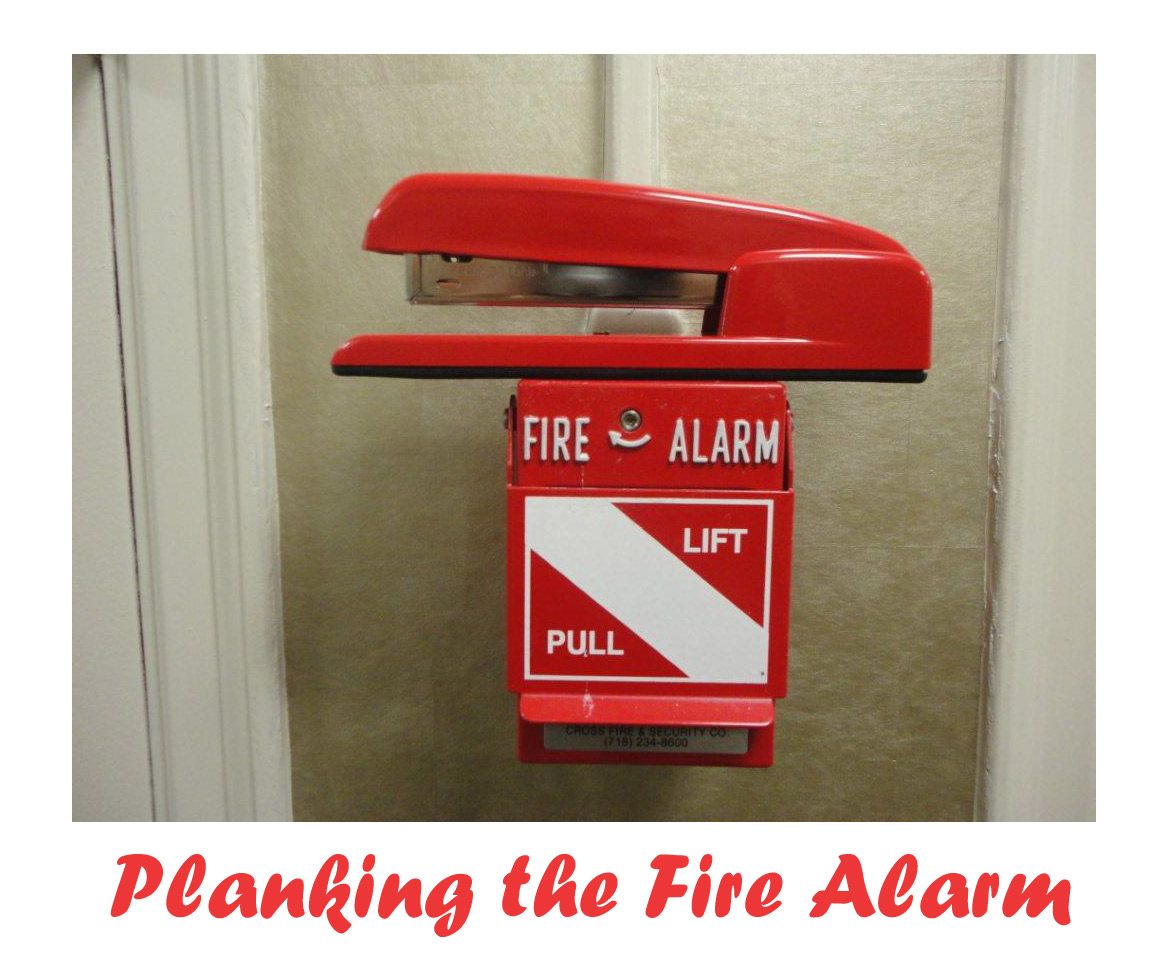 Shoplet Planking Stapler Fire Alarm The Planking Stapler has Moved!