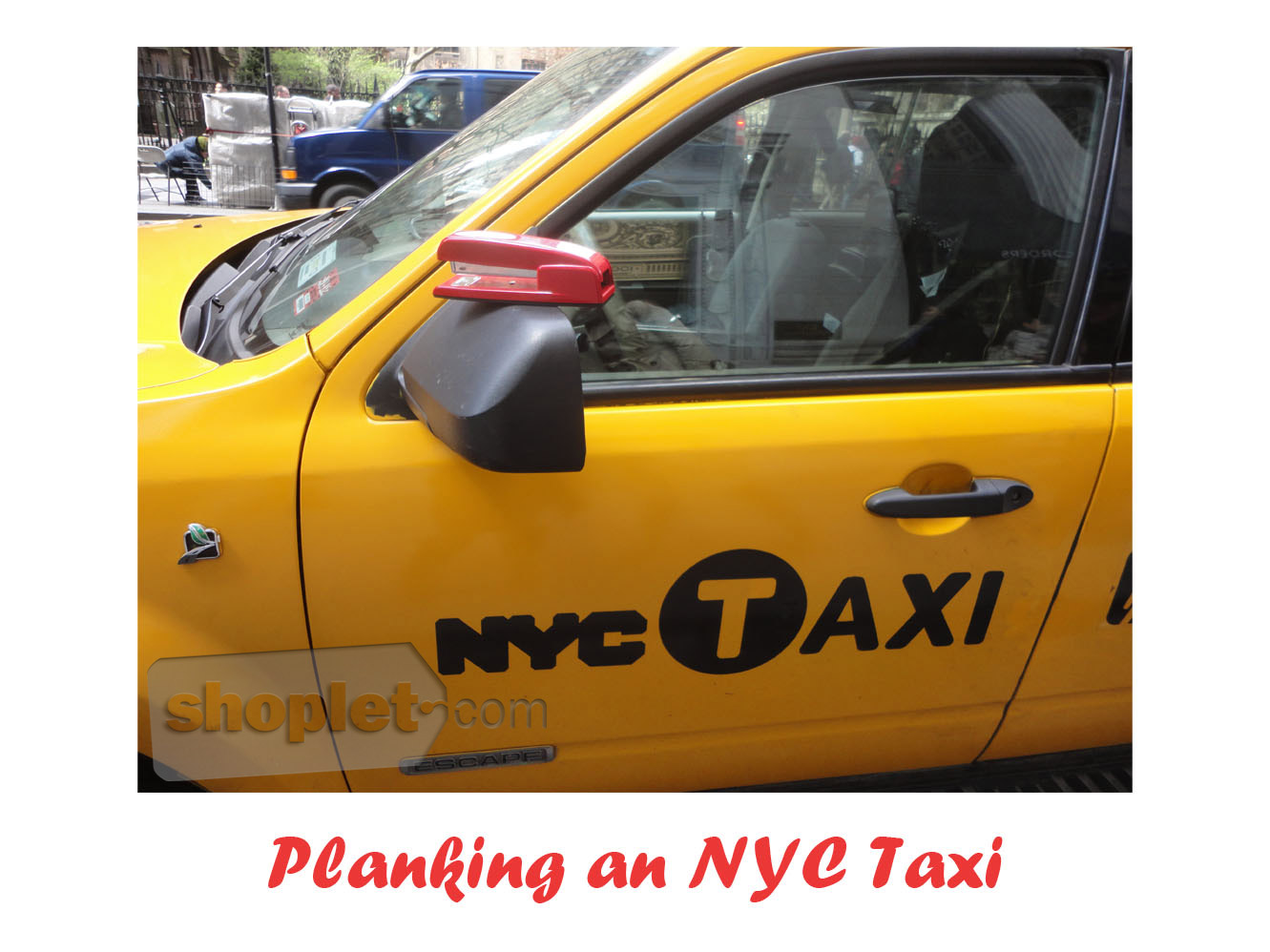 Shoplet Planking Stapler NYC Taxi Cab The Planking Stapler has Moved!
