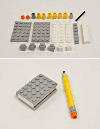 lego pencil notebook 389x500 Best of Office Weekend Roundup 103