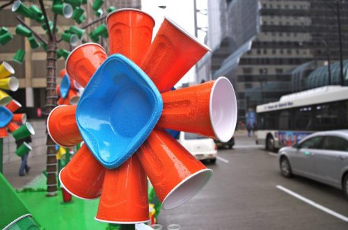solo cup flower 500x331 From the Solo Cup Facebook Page