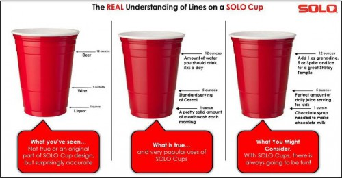 solo cup lines 500x260 From the Solo Cup Facebook Page