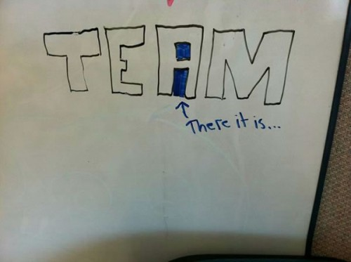 the i in team there it is 500x373 Best of Office Weekend Roundup 103