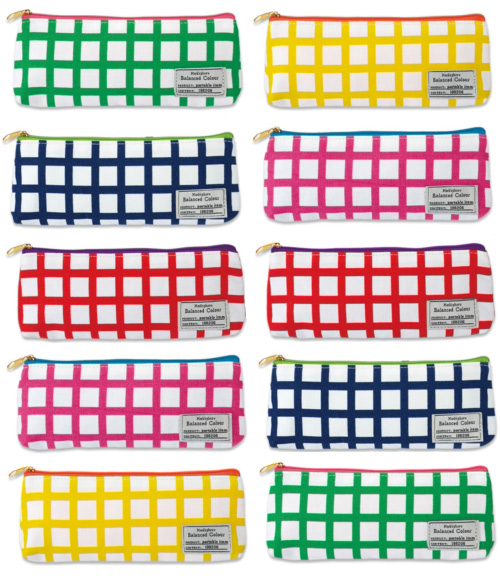 checkered pencil cases Checkered Pencil Cases