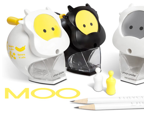 moo pencil sharpener Urban Prefer Pencil Sharpeners