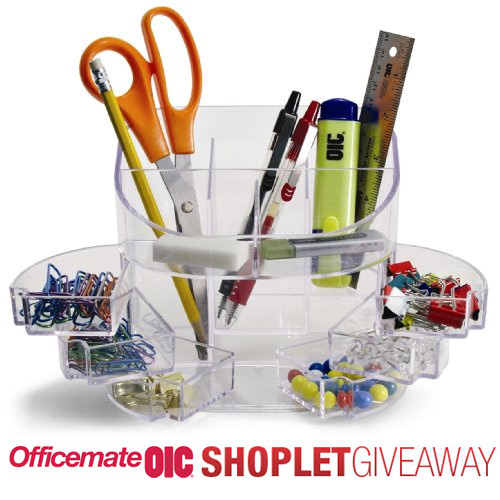officemate desk organizer giveaway Win a Desk Organizer from Officemate!