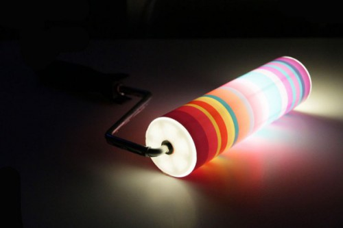 paint roller light 500x333 Best of Office Weekend Roundup 107