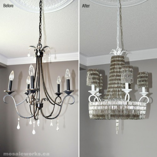 paper clip chandelier 500x500 Best of Office Weekend Roundup 106