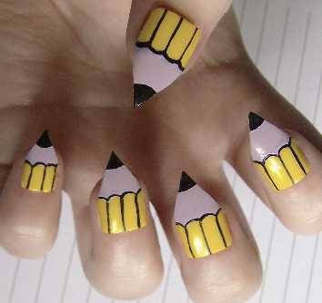 pencil nails Best of Office Weekend Roundup 105