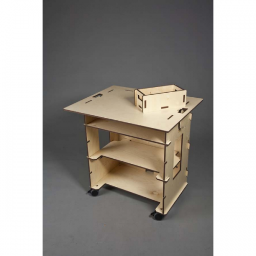 writing space 500x500 Birch Plywood Office Furniture