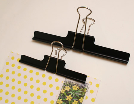 yamada binder clip Four Supplies from Yamada Stationery