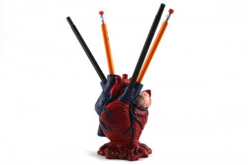 Anatomical Heart Pencil Holder 500x333 Best of Office Weekend Roundup 112