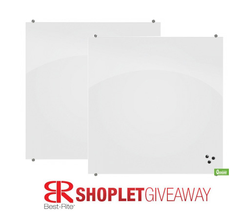 best rite shoplet giveaway Win a Best Rite Magnetic Glass Board!