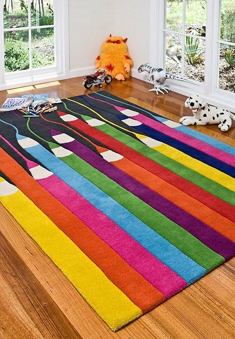 color pencil rug Best of Office Weekend Roundup 113