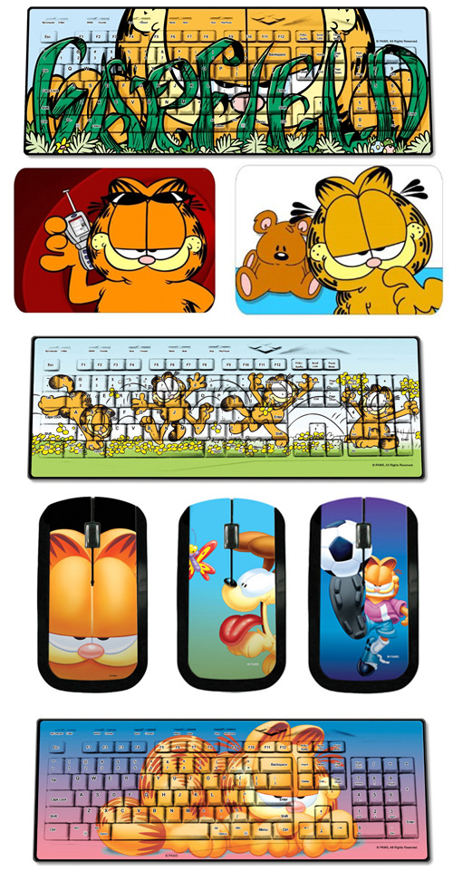 garfield keyboards mice and mousepads Garfield for Your Computer