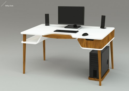 milky desk 500x353 Best of Office Weekend Roundup 110