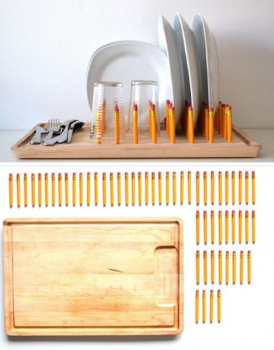 pencil dish rack 392x500 Best of Office Weekend Roundup 113