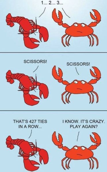 rock paper scissors crabs Best of Office Weekend Roundup 113